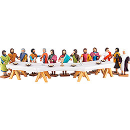 The Lord's Supper  -  14 pieces  -  8cm / 3.1 inch