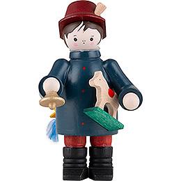 Thiel Figurine  -  Toy Salesman  -  coloured  -  6cm / 2.4 inch