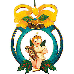 Tree Ornament  -  Angel - Ball - Sounds 10cm / 4 inch