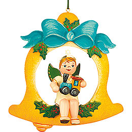 Tree Ornament  -  Angel - Bell - Train 10cm / 4 inch