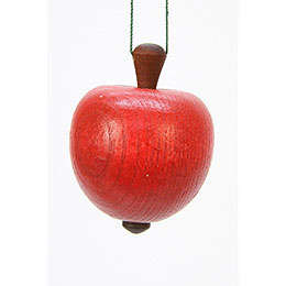 Tree Ornament  -  Apple  -  4,0 / 5,3cm  -  2x2 inch