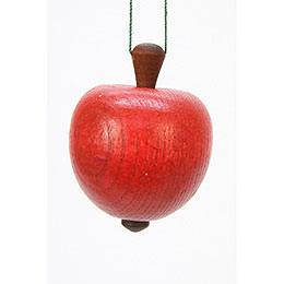Tree Ornament  -  Apple  -  4,0 / 5,3cm  -  2x2 inch