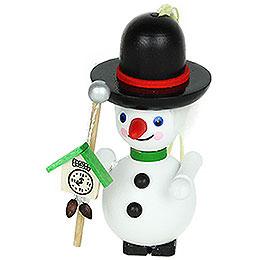 Tree Ornament  -  Black Forest Snowman  -  9cm / 3.5 inch