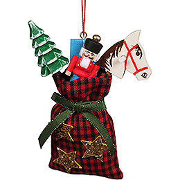 Tree Ornament Christmas Bag  -  7,5x10cm / 2.9x3.9 inch