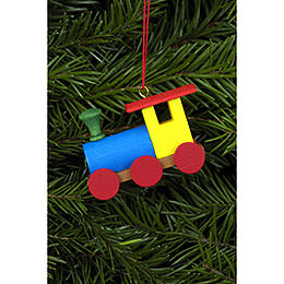 Tree Ornament  -  Engine  -  5,2x3,8cm / 2x2 inch