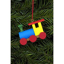 Tree Ornament  -  Engine  -  5,2x3,8cm / 2x2 inch