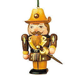 Tree Ornament  -  Musketeer Nutcracker  -  7cm / 3 inch