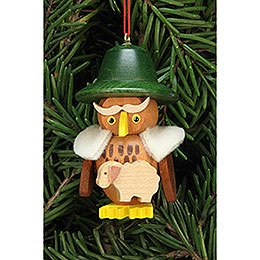 Tree Ornament  -  Owl Shepherd  -  3,2x5,9cm / 1.2x2.3 inch