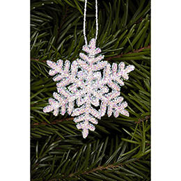 Tree Ornament  -  Snowflakes   -  4,5x4,5cm / 2x2 inch