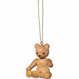"Tree Ornament  -  ""Teddy Sitting""  -  6cm / 2.4 inch"
