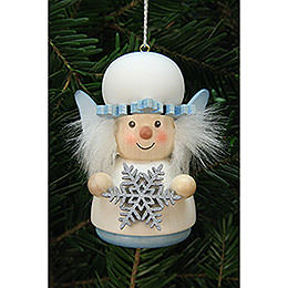Tree Ornament  -  Teeter Figurine Snowflake  -  7,7cm / 3 inch