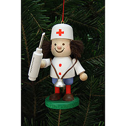 Tree Ornament  -  Thug Doctor  -  10cm / 4 inch