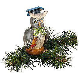 Tree Ornament  -  Tree Clip Owl  -  8,5cm / 3,3 inch