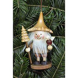 Tree Ornament  -  Tree Gnome Natural  -  12cm / 5 inch