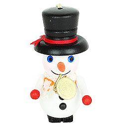 Tree Ornament  -  Trumpet Snowman  -  9,5cm / 3.7 inch