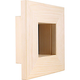 Wall Frame Natural  -  23x23x8cm / 9.1x9.1x3.2 inch