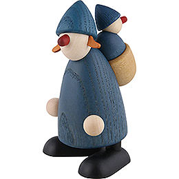 Well - Wisher Lisa with Lieschen, Blue  -  9cm / 3.5 inch
