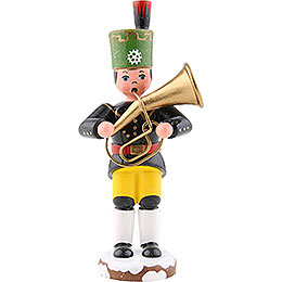 Winter Children Miner Tenor Horn  -  9cm / 3,5 inch