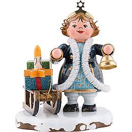 """Winterkinder Himmelskind """"Kling Glöckchen"""" mit Geschenkeschlitten  -  6cm"""