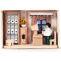 Zündholzschachtel Büro  -  4cm